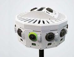 Jaunt VR prototype camera films 360 degrees of footage
