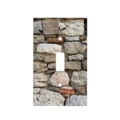 natural stone pattern light switch covers wall switch plates