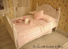 ❣Beautiful feminine bedroom-I want something like this for my future daughters!