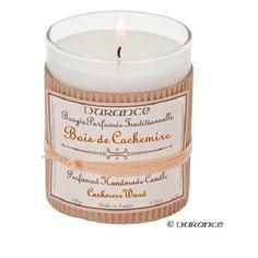Durance-Bougie Parfumée Bois Artisanale CACHEMIRE 180 G - Achat / Vente bougie décorative - Cdiscount
