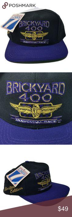 Vintage - Brickyard 400 - NASCAR Racing Hat   Cap Vintage - Brickyard 400  Inaugural Race - Limited Edition - August 6th 1994 ( HT-3 ) Adjustable  Snapback ... 13fd542747ff