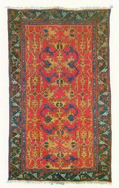 A. Boralevi - Lotto Oushak rug, 16th-17th c.