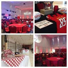The Samuel Riggs IV Alumni Center at #UMD #football #recruitingcelebration  #Catering #Food