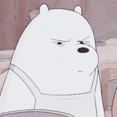 Funny Profile Pictures, Cartoon Profile Pics, Ice Bear We Bare Bears, We Bear, Emoji Wallpaper Iphone, Bear Wallpaper, Pardo Panda Y Polar, We Bare Bears Wallpapers, Mood Pics