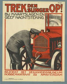 Oude Hollandse reclameposters