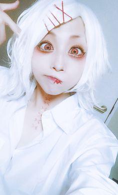 Juuzou Suzuya cosplay—hope you enjoy @DaraenSuzu tokyo ghoul