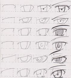 Manga Tutorial Male Eyes 01 by FutagoFude-2insROID.deviantart.com on @deviantART