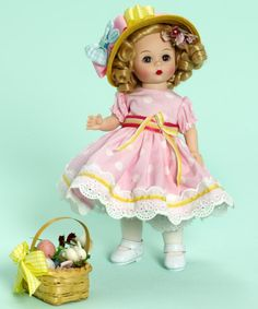 "~ Easter ""Shirley Temple"" Doll ~"