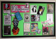 New Shakespeare display for English classroom.