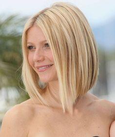 Gwyneth Paltrow Hairstyles: Pretty Long Bob