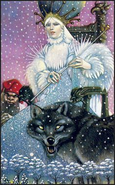 """""""The Lion, the Witch, and the Wardrobe"""" by C.S. Lewis; artwork by Leo and Diane Dillon"""