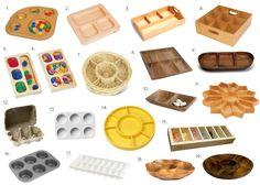 Montessori Sorting Trays - and Ideas!