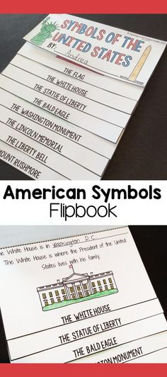 I use this flipbook as an activity to teach my first graders about american symbols. I like that it connects literacy with social studies.