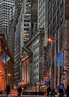 Wall Street, NYC -Lower Manhattan