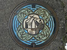 The Beauty of Japans Artistic Manhole Covers