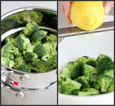 Lemon Pepper Steamed Broccoli Recipe. A steamed side dish option for the family meal
