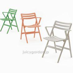 イタリア製Magis(マジス)社の屋外でも使えるチェア。ガーデンチェアとしてお庭で、デッキで、ガーデンルームで使えます。