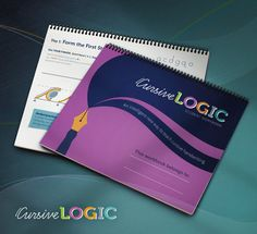 CursiveLogic Quick-Start Pack, a consumable all-in-one workbook and The Art of Cursive, a coloring book of cursive.   You've never taught cursive like this before!