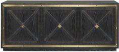 Vanguard Furniture: 9342SC Crouse Storage Console