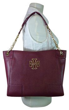 c07df2832159 Britten Red Agate Small Slouchy Burgundy Pebbled Leaher Tote