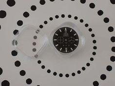 OMEGA SPEEDMASTER - Original Zifferblatt schwarz für Automatikuhr - NEW....!!!!! € 49,00 bei edeluhren4you