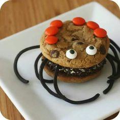 Halloween ice cream cake
