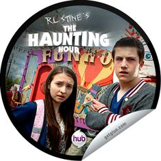 Steffie Doll's R.L. Stine's The Haunting Hour: The Funhouse Sticker | GetGlue