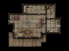 Rooms Battle Map
