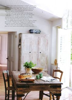 Photograph by Lisa Cohen, styling Geraldine Munzo for Country Style AU