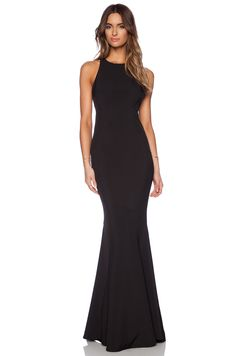 JARLO Carmelita Maxi Dress in Black | REVOLVE - LOVE this look for a bridesmaid.