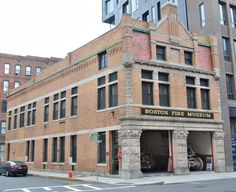 19 local gems in Fort Point, Boston: Boston Fire Museum