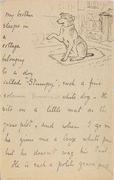 Beatrix Potter, letter