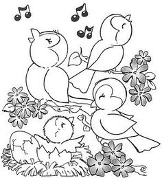 Print and color Summer Coloring Sheets, Spring Coloring Pages, Easter Coloring Pages, Animal Coloring Pages, Free Coloring Pages, Coloring For Kids, Coloring Books, Printable Pictures, Sewing Art
