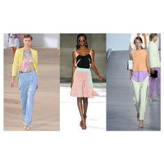 5 Spring 2012 Trends Mint, Pastels, Neon, and more! via Polyvore