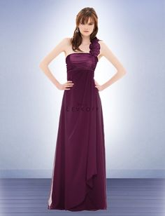 5240595d20 Bill Levkoff in Sangria - Bridesmaid Dress Style 678