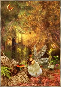 And though you should live in a palace of gold, or sleep in a dried up ditch,  You could never be as poor as the fairies are, and never as rich.  ~Rose Fyleman