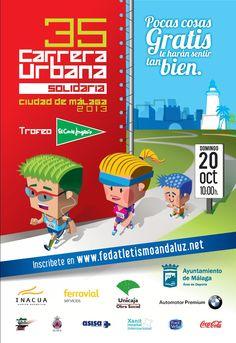 35 Carrera Urbana de Málaga, conocida como la carrera de El Corte Inglés.