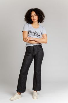 Ash Jeans (4 in 1!) - Megan Nielsen  Ideal for stretch corduroy