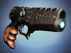 Blue plasma gun -Guardiners