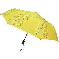 Hana Yellow Travel Lite Umbrella -- perfect color for a rainy day