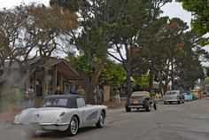 Ocean Avenue in Carmel-by-the-Sea