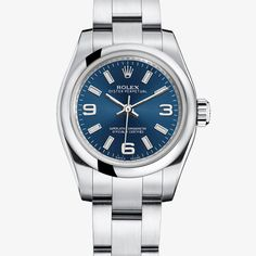 Rolex- Lady Oyster Perpetual - Appliques-or - 176200 environ 4 000 EUR