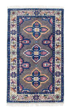Caitlin Wilson | The Kismet Rug in Mulberry