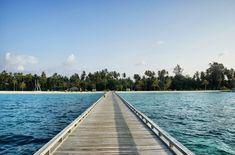 Dieser Steg führt direkt ins Paradies: Die Malediven!