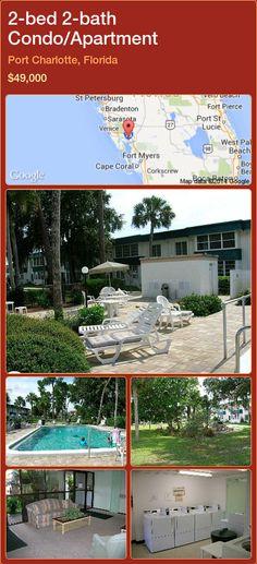 2-bed 2-bath Condo/Apartment in Port Charlotte, Florida ►$49,000 #PropertyForSaleFlorida http://florida-magic.com/properties/38238-condo-apartment-for-sale-in-port-charlotte-florida-with-2-bedroom-2-bathroom