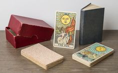 """Rider """"C deck"""" (estimated 1931 through 1939) - House of White Tarot Museum & Research Library"""