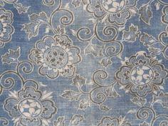 Meiji-Handspun-Cotton-INDIGO-KATAZOME-PANEL-Faded-Hana-Karakusa narablog