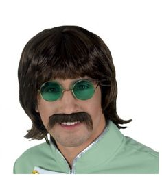 Περούκα Imagine με μουστάκι