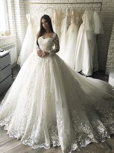 Ballroom Wedding Dresses, Long Wedding Dresses, Boho Wedding Dress, Bridal Dresses, Lace Wedding, Dubai Wedding Dress, Post Wedding, Wedding Veil, Wedding Outfits