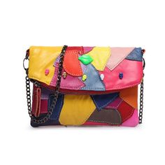 d1ae9ac546 2018 Summer High Quality Colored Design Leather Bag. Leather Clutch  BagsLambskin ...